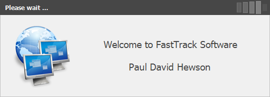 Splash screen with FastTrack