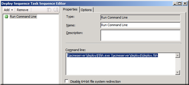 SCCM Task Sequence Read