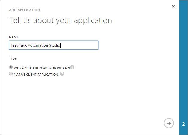 Microsoft Azure AD / Office 365 add application #3