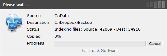 Using SyncDir with FastTrack